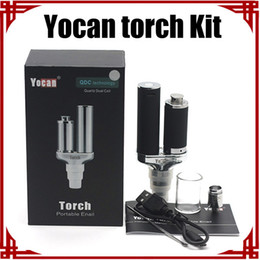 [ sp ] Original Yocan Torch Kit Vaporizer Kit Wax Vaporizer Pen and Dry Herb Vaporizer E Cigarette Quartz Dual Coil Herbal Yocan Vaporizer