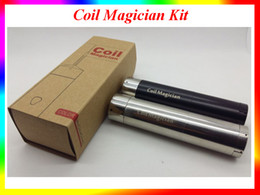 Wholesale PilotVape Coil Magician Electrical Automatic Coils Jig use battery with coiling poles Perfect Tool Kit fit Atomizers VS Coil Master