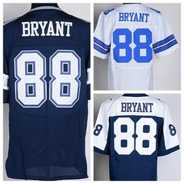 Wholesale Cheap Dez Bryant Blue White Thanksgiving Jerseys Uniforms Sport Dez Bryant Shirt Fashion Embroidery Best Quality On Sale