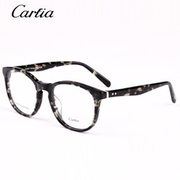 carfia brand designer fashion optical frame 5108 computer reading myopia glasses frame for men and women