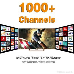 Wholesale 1000 Europe Arabic Iptv Channels Sky IT TR UK DE IPTV Account Apk Support Android Enigma2 Mag25x