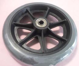 Wholesale 6 PVC front wheels wheelchair wheels wheelchair front wheels PVC front wheel folding wheelchairs CE FDA