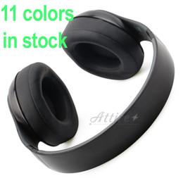 Wholesale studio Wireless headphones bluetooth wireless stereo headphones bluetooth earbuds DJ headphone with sealed box AAA DHL Free