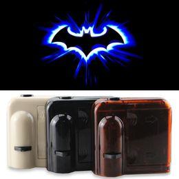 Wholesale Wireless No Drill Magnetic Sensor New Design Logo Door Light Car LED Door Welcome Projector Courtesy Ghost Shadow Lights Logo For Batman