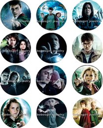 La réalisation de films en Ligne-Livraison gratuite HP Movie Snap bouton charme Charm Popper pour Bijoux Snap bonne qualité 12pcs / lot Gl264 bijoux faisant DIY