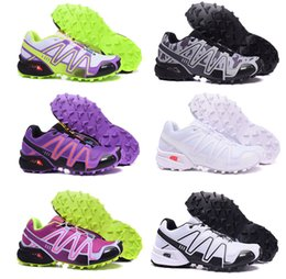 Wholesale 2016 womens Speed Cross Trail Running Shoes Camo Black Grey outdoors Running Shoes Cross Country Sneakers Size