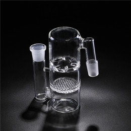 Bongs!Glass Ash Catcher Filter 18.8mm Joint Glass Water Percolator Frit Disk Ash Catcher Smoking Glass Pipes Bong Accessories