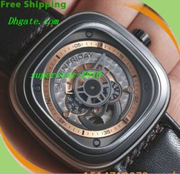 Wholesale NEW Top Quality Luxury Watches LNIB SEVENFRIDAY P2 P2 Grey from Authorized dealer authentic seven friday