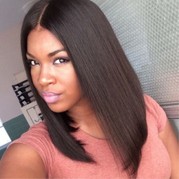 High temperature Japanese fiber heat hesistant synthetic lace front wigs cheap bob wigs short cut wigs for african american black women