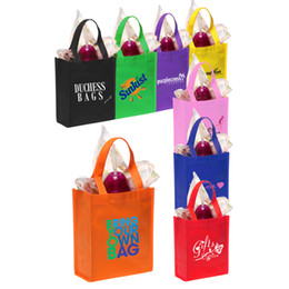 Wholesale non woven advertising promotion bag promotion shopping bag gifts bag with own logo own design