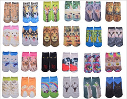 Wholesale 2016 Socks pairs Fashion Sport Stockings D Printed Stocking Socks Adult Men s New Pattern Hip Hop Soft Cotton Socks Unisex SOX socks