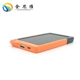 Wholesale 1pc Novel solar PowerBank Real standard mAh Solar Power Banks Cell Phone Portable Charger Solar Li powerbank battery Powerbank
