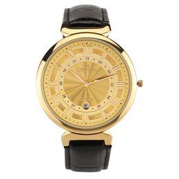 NEW QSurvivor brand fashion luxury leather strap watches men Japan quartz movt men's sports watches Calendar Watch women waterproof relogio