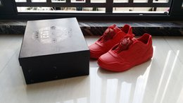 Wholesale 2016 Red Color Disc og BILLY S EXCLUSIVE UFO Turntable TPU Outddor Sports Mens SneakTrinomic