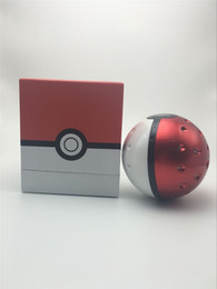 Wholesale Newest Pokeball Power Bank mah second third Generation Poke mon Go Cartoon Phone Charger External Battery With Led Light Project