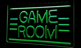 Ls242-g GAME ROOM Displays Toys TV Neon Light Sign