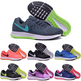Drop Shipping Wholesale Running Shoes Men Women Cheap Zoom Pegasus 31 Sneakers High Quality 2016 New Sports Shoes Size 5.5-11