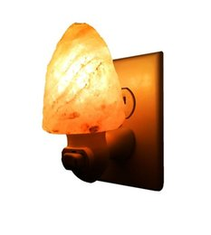 Wholesale Himalayan Salt Night Light plug in Natural Himalayan w w Salt Night Light Air Ionizer Nursery Lamp Natural