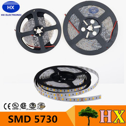 Super smd 5730 Led Lights Strip 100m 5m Roll 60LEDs m dc12v Flexible Light Led Strips Wateproof Non-waterproof Warm Cold White Red Blue