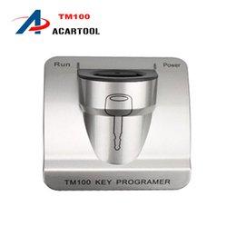 Wholesale 2015 TM100 Super Auto key programmer TM Transponder Key maker TM car key copier Basic version DHL