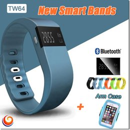1pcs Tw64 Sport Watches Bluetooth Smart Bracelet Wristband Fashion Fitness Band Iphone and Android Better Than mi Band Large Battery 606
