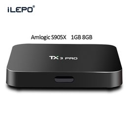 Wholesale Amlogic S905X tx3 pro TV Box Android Quad Core KODI Add ons Preinstalled Wifi H K Media Box HD Streaming Player VS MXQ Pro