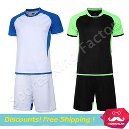 Wholesale DIY Sports Jersey Authentic white jersey soccer clothes suit group team racing suit uniforms custom sports shirts