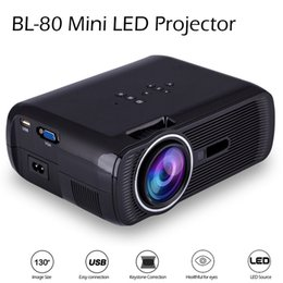 Mini led Projector for home cinema Movies, child games or cartoon movies or Business presentations and meetings