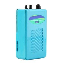 Wholesale Portable Aquarium Battery Backup Operated Fish Tank Air Pump Aerator Oxygen hot search
