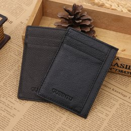 Wholesale 2016 Hot Sale Credit Card Travel Passport Cover Credit Card Holder Pu Leather Men Wallet Id Holders Business Sim Coin Purse G115 Ztt