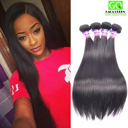 Cheap Hair 4Pcs Lot Brazilian Straight Hair Bundle Unprocessed Brazilian Human Hair Extension Wholesale Brazilian Virgin Hair Straight Hair