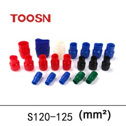 Wholesale TOOSN Terminal connector Soft Sleeve Insulation Crimp terminal Wire terminal car End caps V120