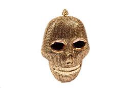 Compra Online Monederos de las señoras regalos-100% bolsos hechos a mano cristalinos de las mujeres del cráneo de la noche de Halloween bolsos de las señoras del diamante bolsas de regalo de lujo del partido de cartera de mano