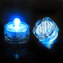 El envío libre impermeabiliza las luces sin llama del resplandor subacuático de Tealight del LED ligero que funcionan con batería Wedding la decoración de Navidad de la fiesta de cumpleaños desde velas de cumpleaños barcos fabricantes