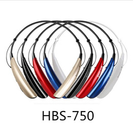 Wholesale HBS750 universal mobile wireless Bluetooth headset stereo manufacturers direct there is packaging