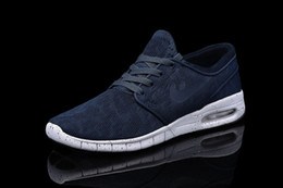 Wholesale SB Stefan Janoski Max Men Running Shoes Cheap Best Tennis Brand Sports Running Skateboard Trainers Breathable Jogging Shoe Eur
