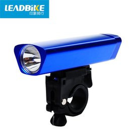 Wholesale Aluminium Alloy Flash Light Cree LED Bicycle Flashlight A Mountain Country AAA Battery General Purpose Bike Usb Cycle Cycling