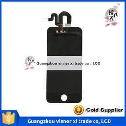 Wholesale TOP Quality Black White Lcd Screen Replacement For Apple iPod Touch lcd display Touch Screen digitizer