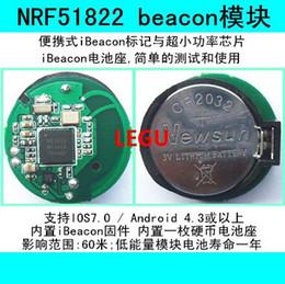 Wholesale Beacon NRF51822 ultra small power module IBeacon base station equipment WeChat shake peripheral beacon
