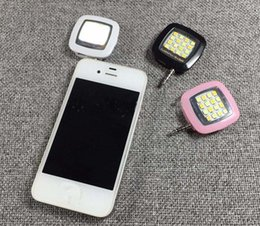 Built-in 16 led lights LED FLASH for Camera Phone support for multiple Photography mini selfie sync led flash 3 colors