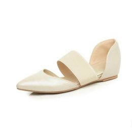 new model women sandals korea style vintage summer shoes pointy closed toe slip on black flats