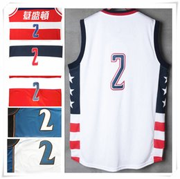 Wholesale 2016 New Season Stitched Throwback Retro Men Wizard jersey John Wall Michael jerseys Sport Hot sale Cheap Gift present