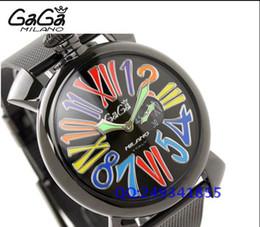Wholesale 2016 luxury Gaga watch Gaga steel watch unisex strip fashion watch waterproof watch
