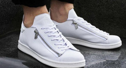 Wholesale 2016 new mens Y3 Stan Smith Zip Trainers personality Men and women sneakers further luxury products from the designer range Leather Shoes
