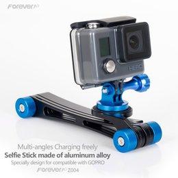 Wholesale 2017 Trending Product CNC New Machining Aluminum Alloy foldable camera case use for selfie stick