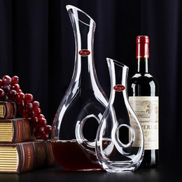 Wholesale Crystal Wine Decanter Snail Design Style Decanter Fashion Gift Selecta Liquor Whiskey Wine Decanter