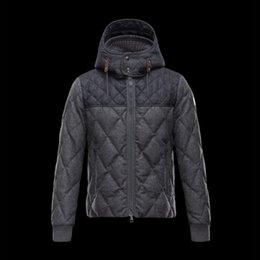 Wholesale Winter jacket men down jacket hood Bomber Male Coat Patchwork Windbreaker super light Parka Plus size anorak