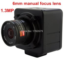 Wholesale MP P HD mm manual focus lens Aptina AR0130 CMOS surveillance Video record usb camera windows software
