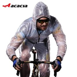 Wholesale Outdoor Sports Riding Mountain Bicycle Bike Cycling Raincoat Poncho Jacket Slim Split Windshield Waterproof Raincoat Suit