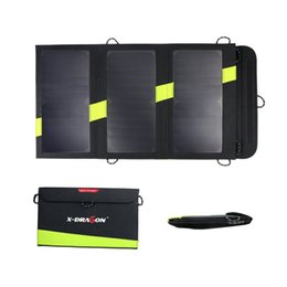 Wholesale Solar Charger Power Bank Mat V20W Waterproof Sunpower Portable Panel Charging Packet Camping Partner For Cellphone Tablets